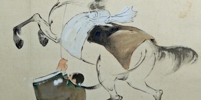 Galoper sur un cheval fou